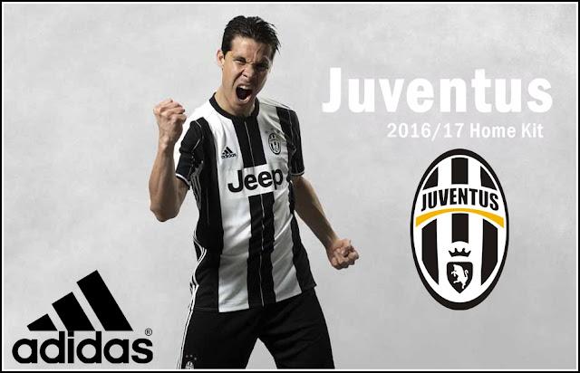Jersey Anyar Juventus Home Musim 2016-2017
