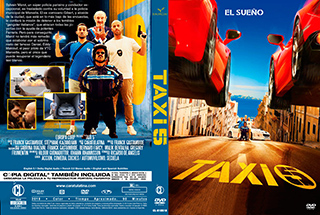 Taxi 5 - Cover DVD