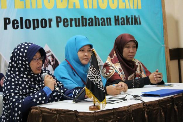 MHTI Soroti Kasus Yuyun dalam Konferensi Perempuan - Abad Khilafah