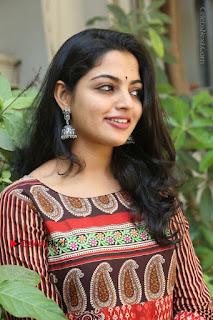 Telugu Actress Nikhila Vimal Latest Stills in Anarkali Dress  0131.JPG