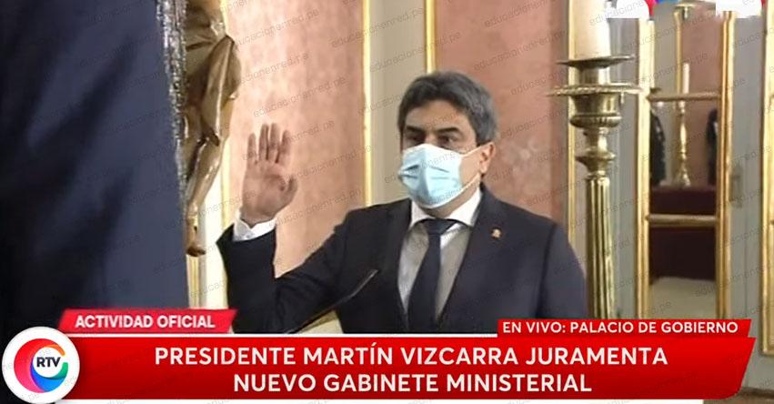 MINEDU: Martín Benavides Abanto fue ratificado como nuevo Ministro de Educación - www.minedu.gob.pe