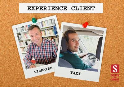 Taxis et libraires face à l'expérience client