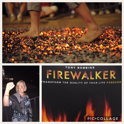 Firewalking and Gratitude for Disease