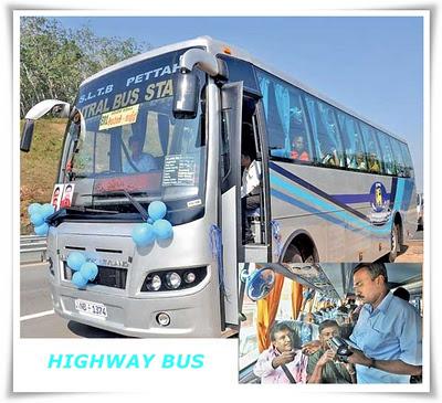 Kadawatha Highway Bus Time Table