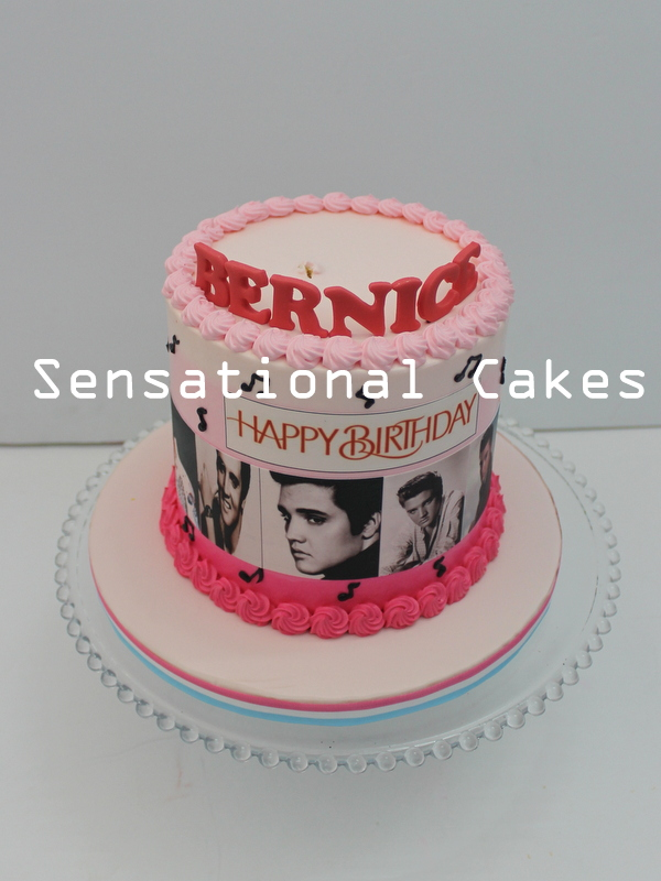 The Sensational Cakes Remembering The King Elvis Presley