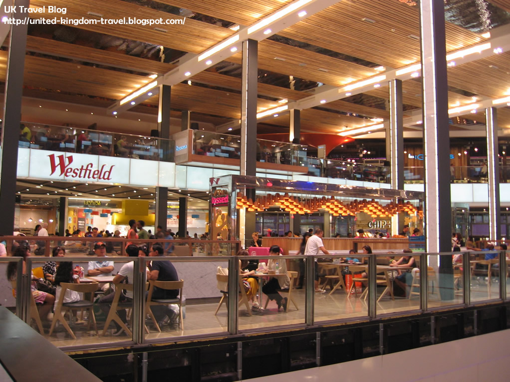 westfield shopping mall in stratford city london the globe trotter. Black Bedroom Furniture Sets. Home Design Ideas