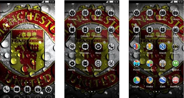 Tema Manchester United Android : Bisa untuk Xiaomi dan Oppo