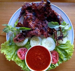 Makanan Khas Indonesia, Ayam Taliwang, Ayam Taliwang Lombok