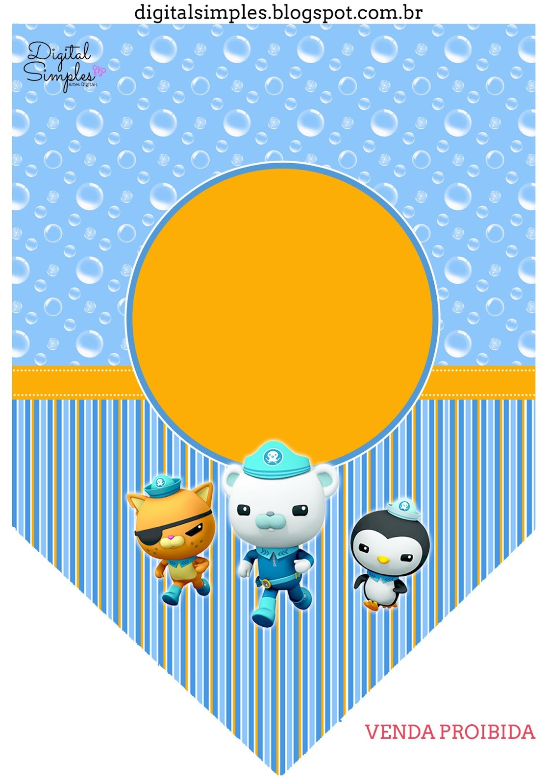 Octonauts: Free Party Printables and Invitations. - Oh My ...