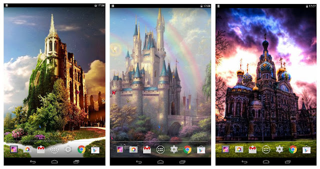 Dream Castle Live Wallpaper: This sweet Gaoqing Dream Castle background image feels you are in your dreamland.
