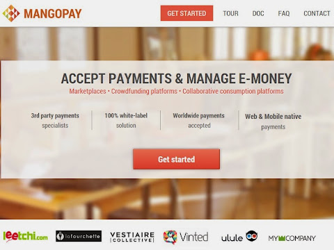 圖說: Mangopay 可提供 White-Label 解決方案,幫助新創公司或平台電商賣家推出貼牌的支付工具,圖片來源: 網站截圖