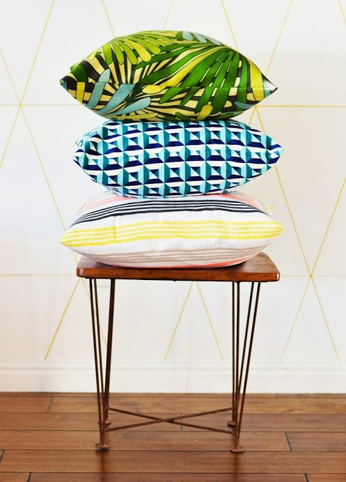 do-it-yourself cushions