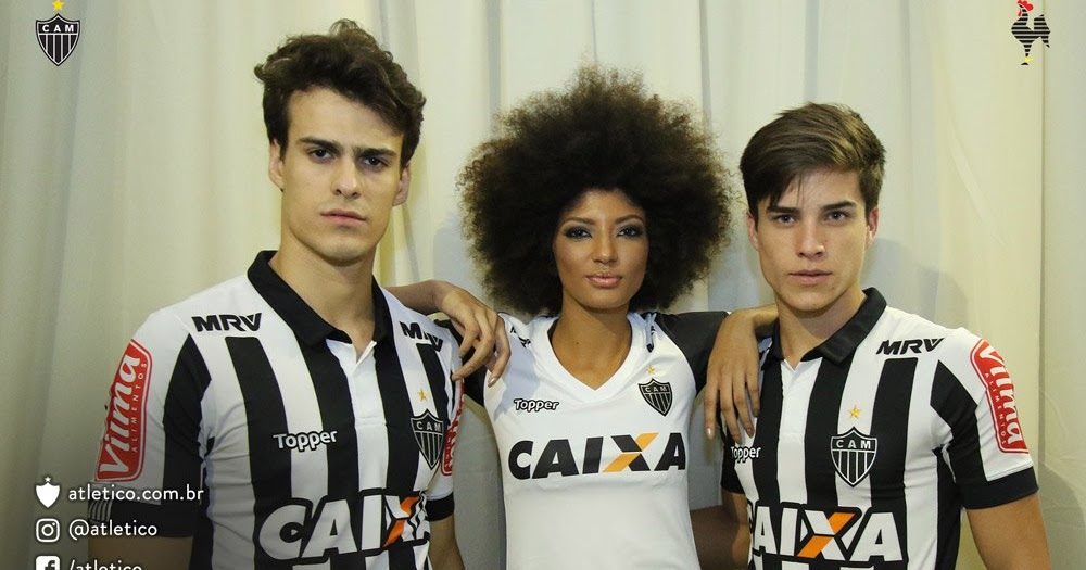 Topper Atletico Mineiro 2017 Home And Away Kits Released