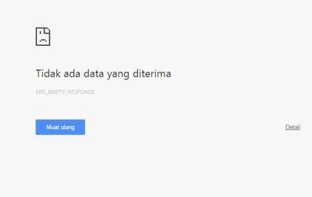 Cara Mengatasi Error Chrome Bug Error 324