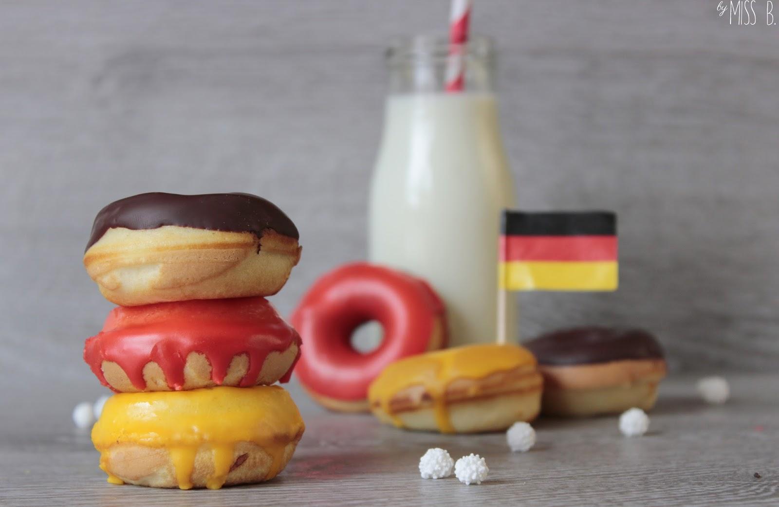 WM-Backen: Mini-Donuts zur Halbzeitpause!