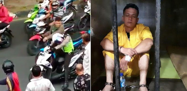 Oknum TNI yang Pukul Polisi Langsung Ditahan, Tangan dan Kaki Diborgol