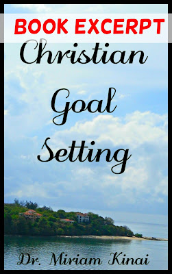 Christian goal setting book excerpt