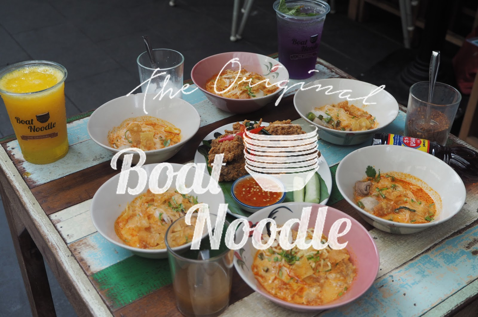 [Food Review] Prosperity YUM Menu @ Boat Noodle, Empire Damansara