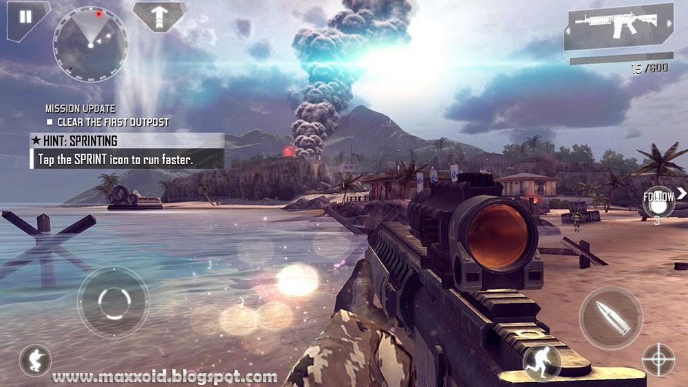 download modern combat 3 apk + data offline