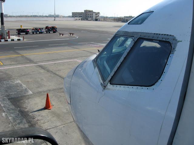 Port lotniczy w Hurghadzie - Egipt