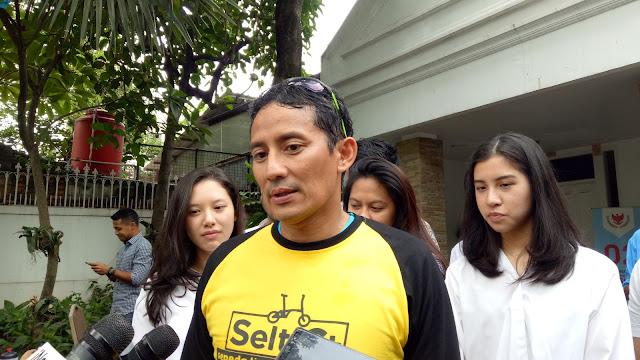 Soal Tabloid Indonesia Barokah, Ini Tanggapan Sandiaga Uno