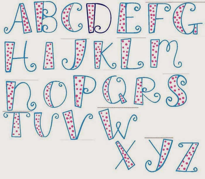 30 Day Drawing Challenge 13 Find A Favorite Font Rebecca Zdybel Myrtle Beach Artist And