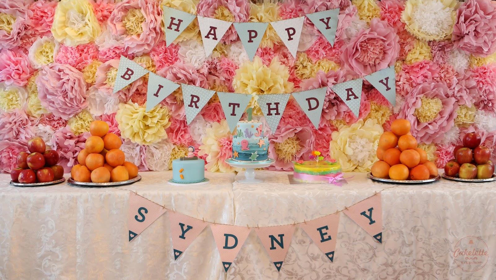 Durian Birthday Cake Sydney