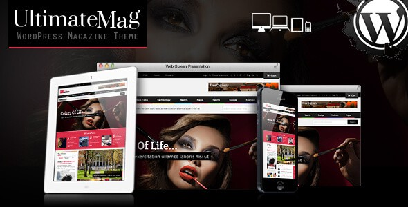 Ultimate Magazine Responsive WordPress Theme