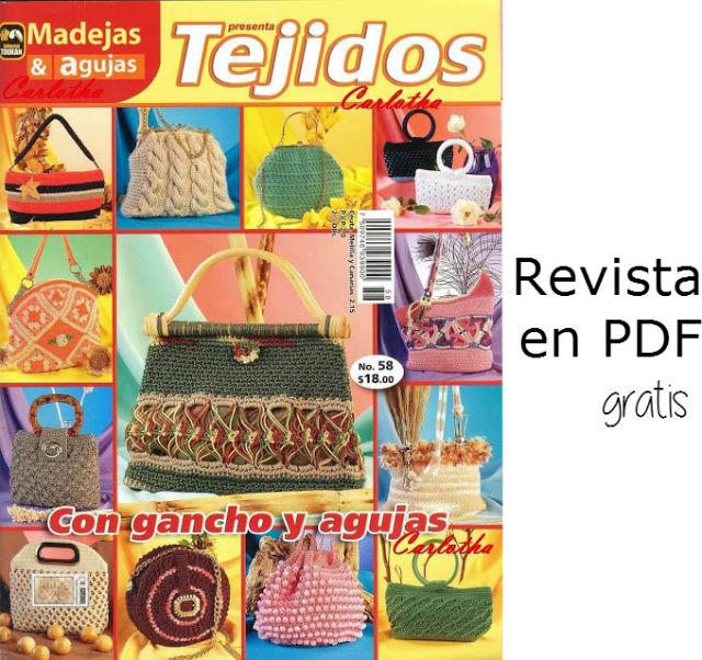 Revista de tejido en pdf / 21 modelos de bolsos para tejer ...