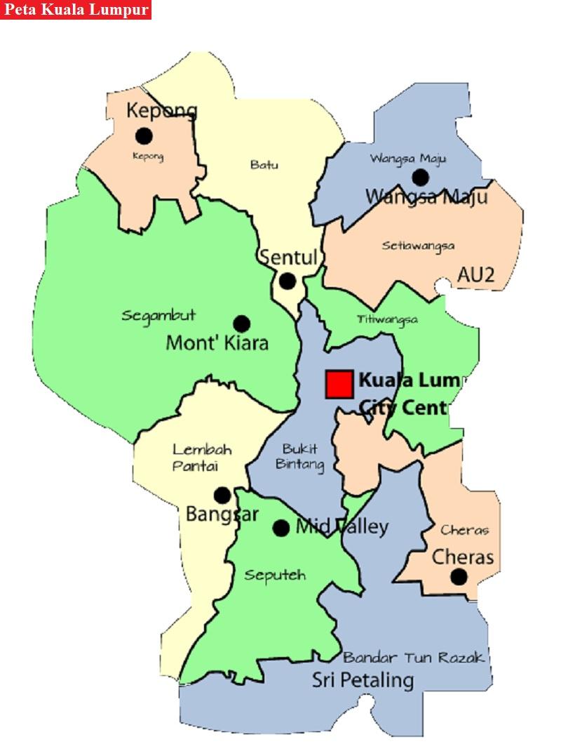 Peta Kuala Lumpur