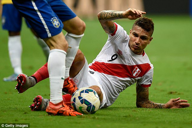 Peru captain Paolo Guerrero to miss 2018 World Cup after being banned for taking cocaine