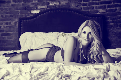 Miss L. Denver boudoir photos | Denver, Colorado photographer studio | Darci Amundson Photography