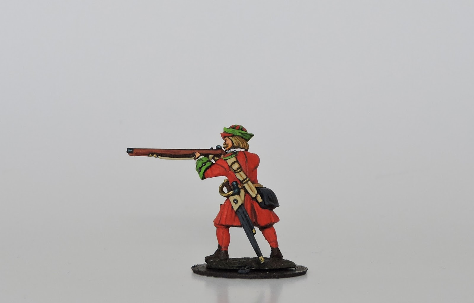 Aro Teppiche Augsburg Warfare R07 Russian Musketeer Firing Line In Kartuz The