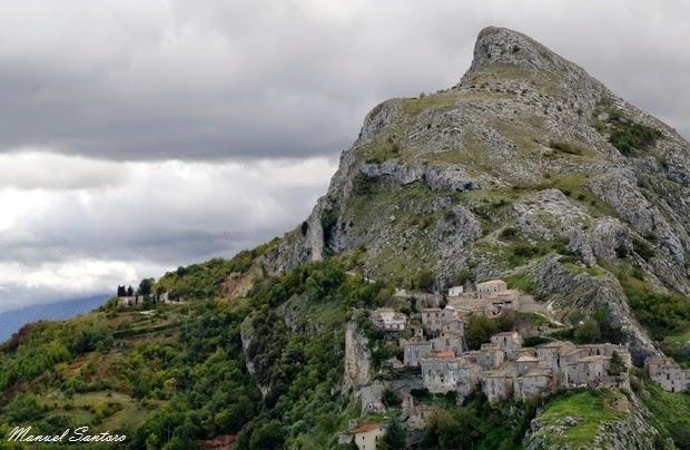 Corvara Vecchia, vista panoramica