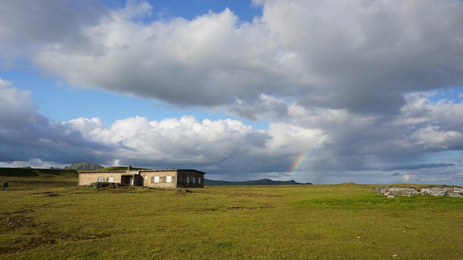góra w Viku, Vikurfjall, zielona Islandia, południowa Islandia