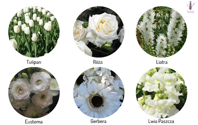 Kwiaty sezonowe na wesele. Styczeń