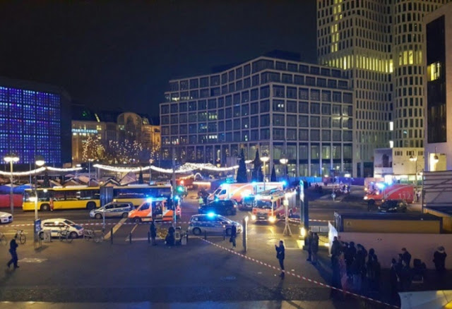 terror berlin Кървава касапница при терористичен акт в Берлин