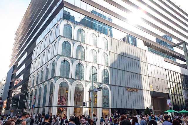 New shopping glitz for Ginza - the Ginza 6 retail complex.