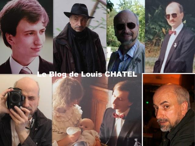 Mosaïque avec des photos de Louis CHATEL pour ses 60 ans