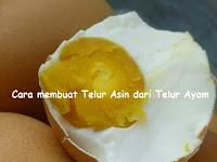 Cara membuat Telur Asin dari Telur Ayam | Hasilnya sama seperti Telur Bebek