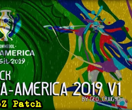 Kitpack HD Copa America 2019 For PES 2017 PES 2018 PES 2019