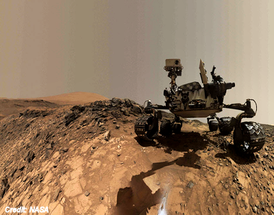 Martian Rocks Hint at Life on The Red Planet?