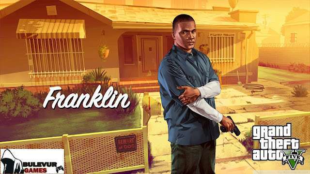image of franklin in grand theft auto v
