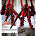 """Custom Build: HGBF 1/144 Mega-Shiki """"Amazing"""""""