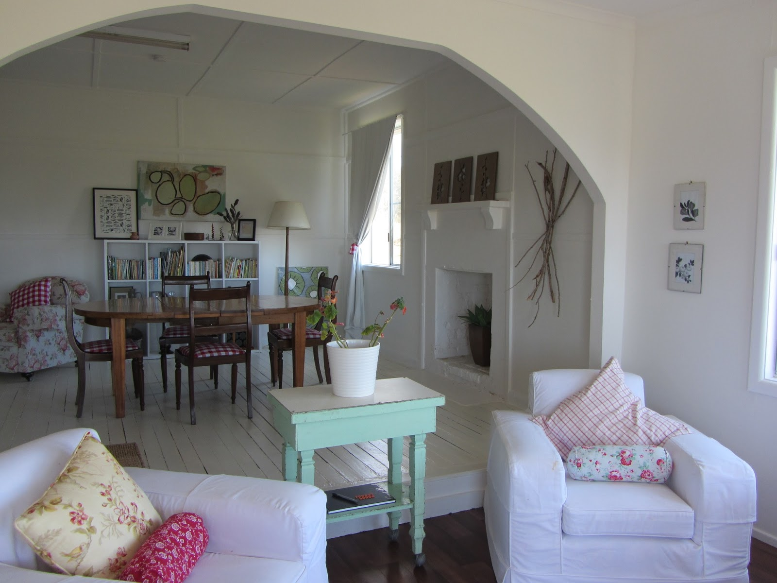 Thom haus handmade a budget living room renovation - Living room makeovers before and after ...