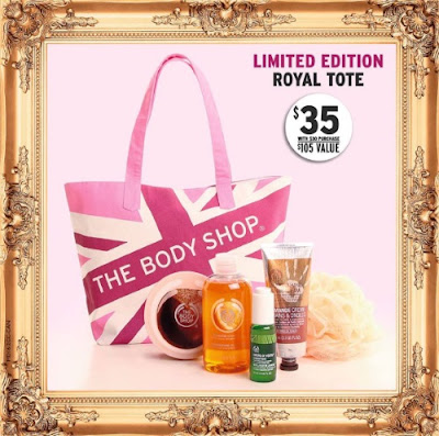 The Body Shop Mother's Day Tote Bag