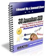 Ebook 38 Jawaban SEO, sonz blog