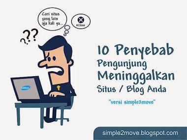 10 Penyebab Pengunjung Meninggalakan Blog mu