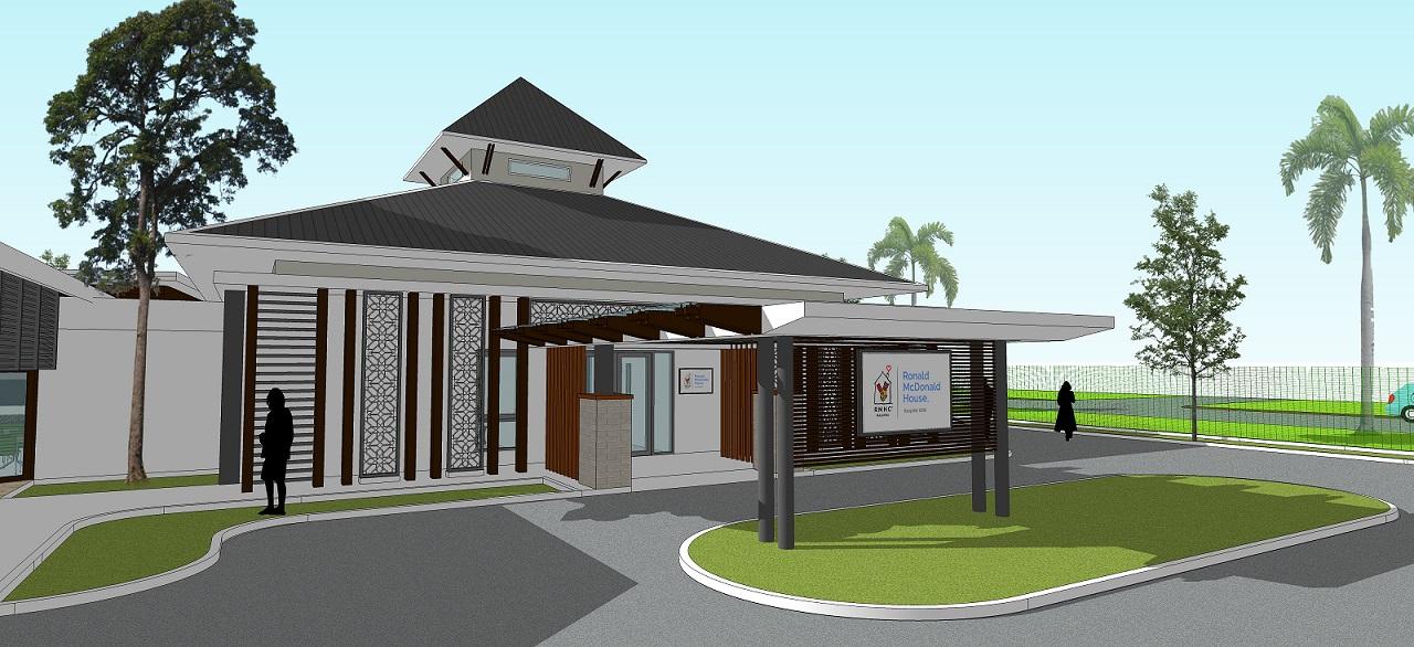Rumah Ronald McDonald di Hospital Universiti Sains Malaysia Kubang Kerian