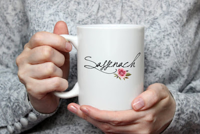 Sassenach mug on Etsy